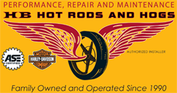 HB Hot Rods and Hogs - Logo